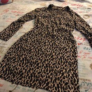NINE WEST ANIMAL PRINT DRESS
